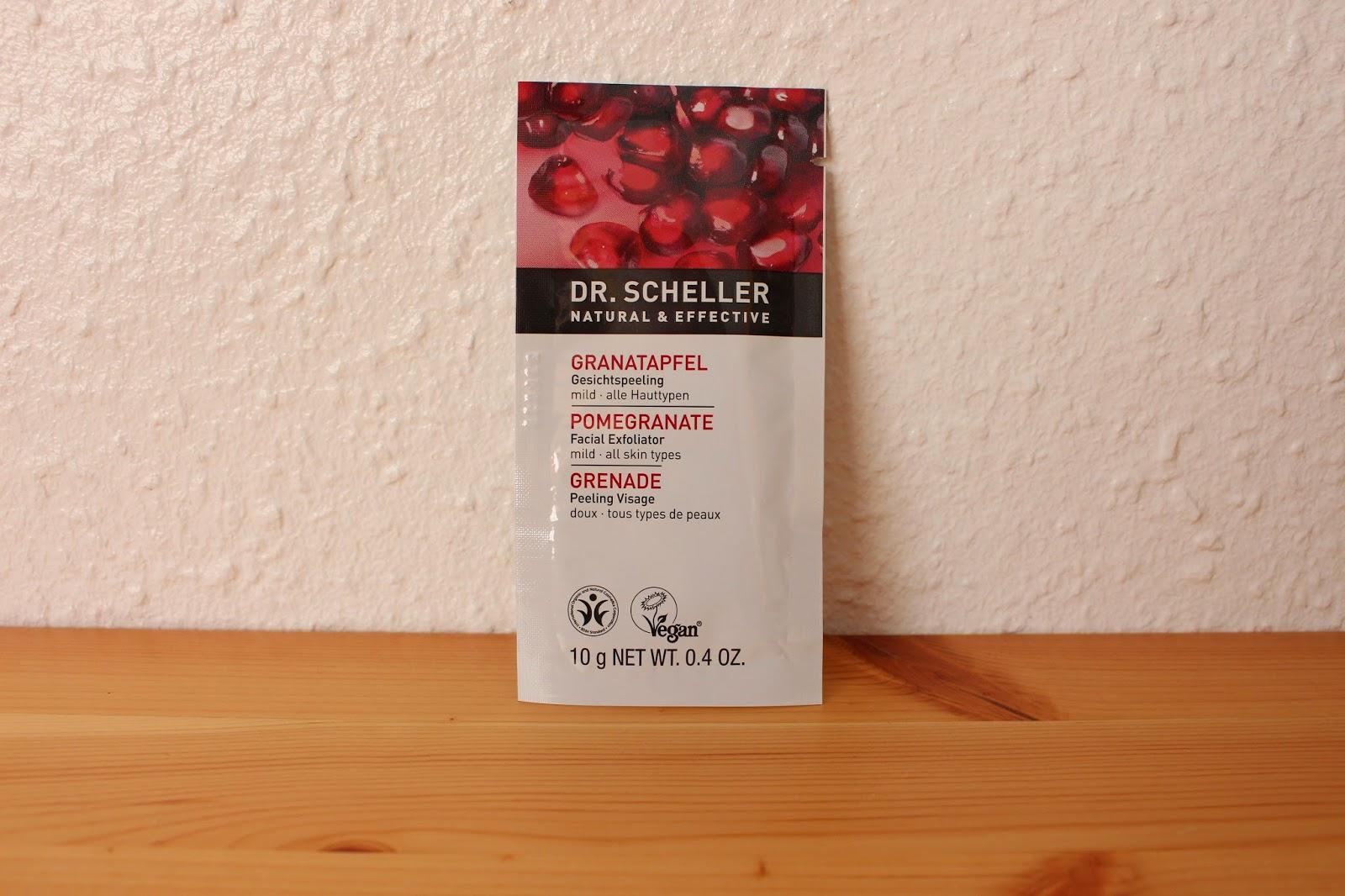Dr. Scheffler Granatapfel Gesichtspeeling