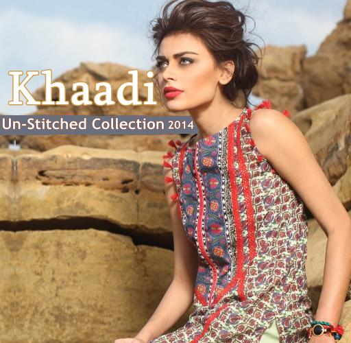 Khaadi Unstitched Lawn 2014
