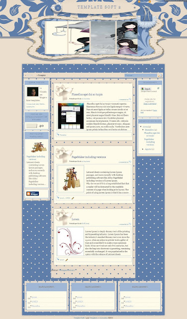 Soft 2 Blogger Template 2013