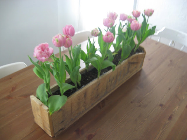 I am davidj wood pallet flower box for How to make a planter box out of pallets