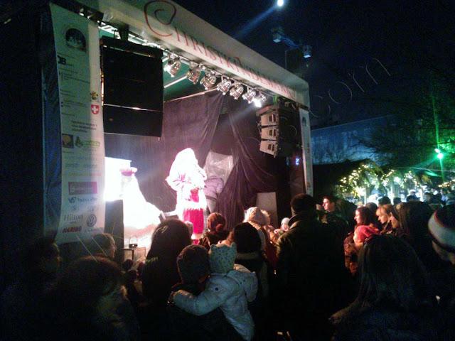 Sofia Christmas market and Santa Claus