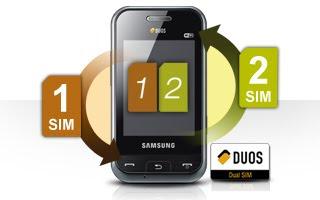 Samsung Dual sim mobile E2652