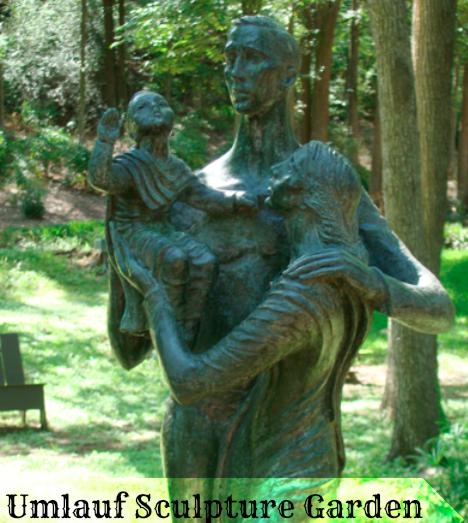 Free Fun In Austin Umlauf Sculpture Garden Free All Summer