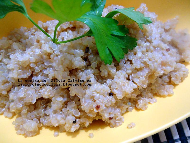 Las recetas de silvia c mo preparar la quinua o quinoa dos for Cocinar quinoa hinchada