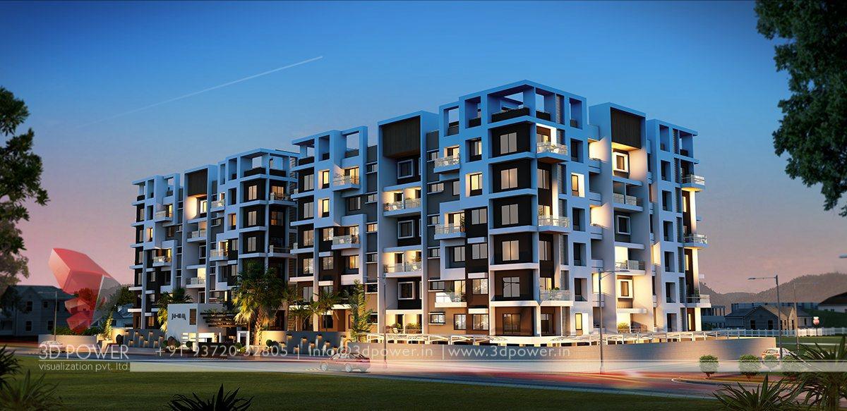 3d Apartment Design Exterior corporate building design | 3d rendering: 3d apartments design