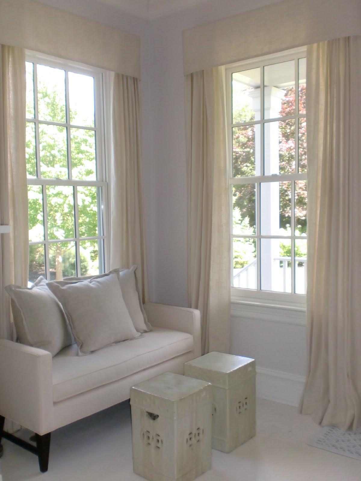 Jeanne Salucci Interior Design Window Treatments Linen