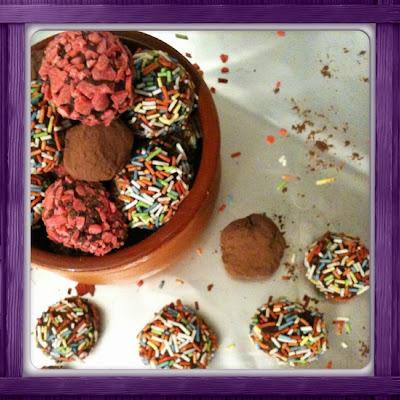 Chocolate truffle / Σοκολατένια τρουφάκια