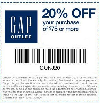 Nov 06,  · Nowadays, it's the face of Gap Inc., which covers not only Gap, but also Old Navy, Banana Republic, and Athletica! Since , Gap has been offering online shopping, and it's created even more ways to save. The e-commerce model makes it easy to use Gap coupons and promo codes to save even more on your clothing purchase!/5().