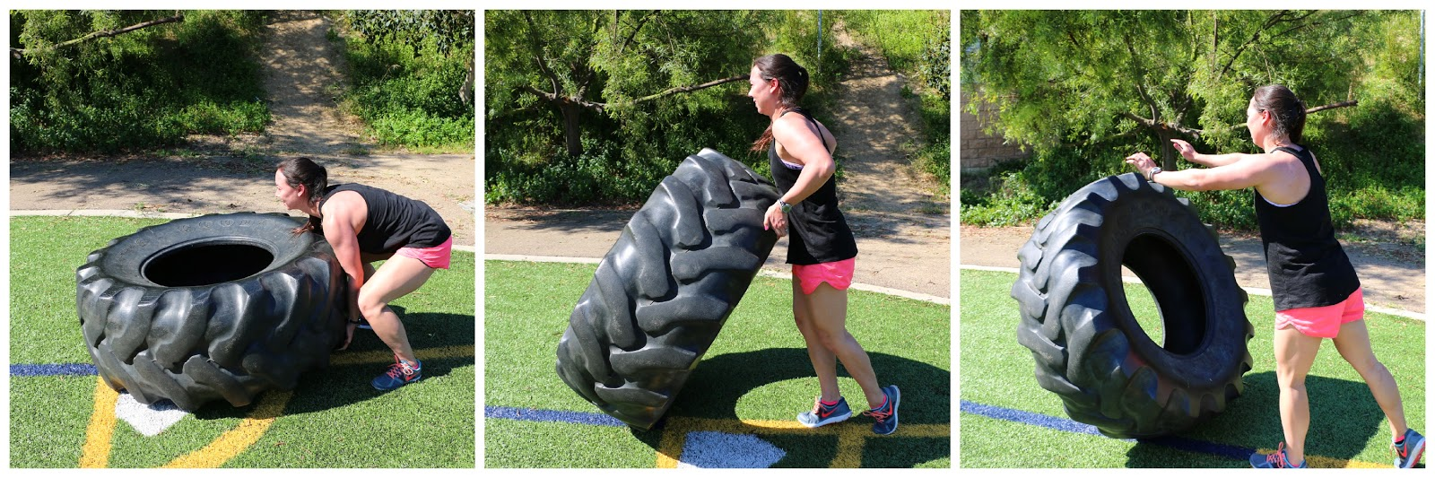 The Flip Out Fam: Full Body Tire Workout