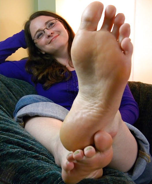 Mature wife foot