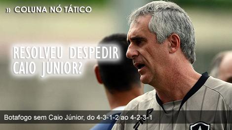 Botafogo sem Caio Júnior com técnico Flávio Tenius