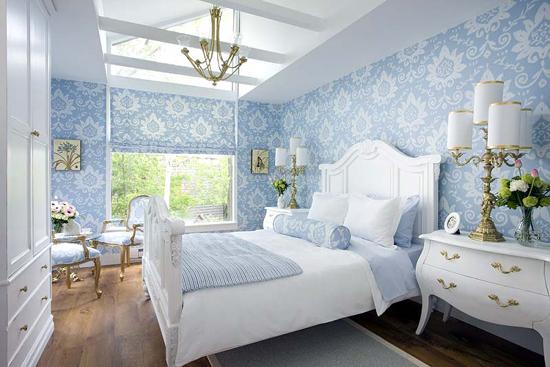 Decoracion De Habitaciones De Matrimonio En Blanco ~   en blanco para dar mayor luminosidad El blanco es el color principal