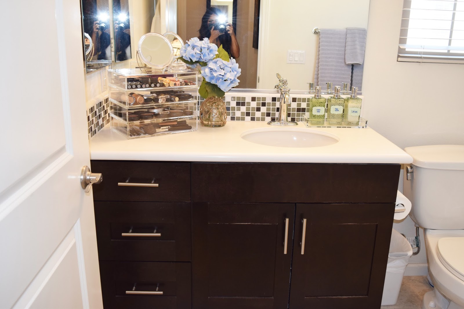 What To Put In Guest Bathroom. Since This Room Needs To Function As Both A Guest Bathroom And My Personal Area I Have Organized The Items That I Use The Most And Put Them In Soap