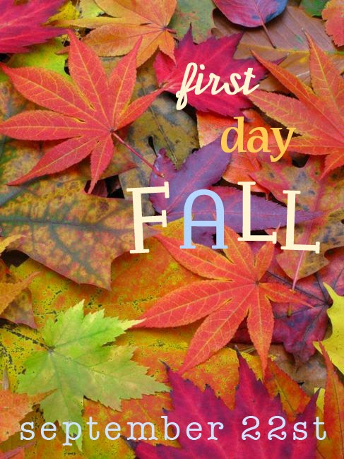 1st Day Of Autumn: Show And Tell: September 2013