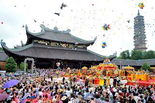 opening-Bai Dinh Pagoda