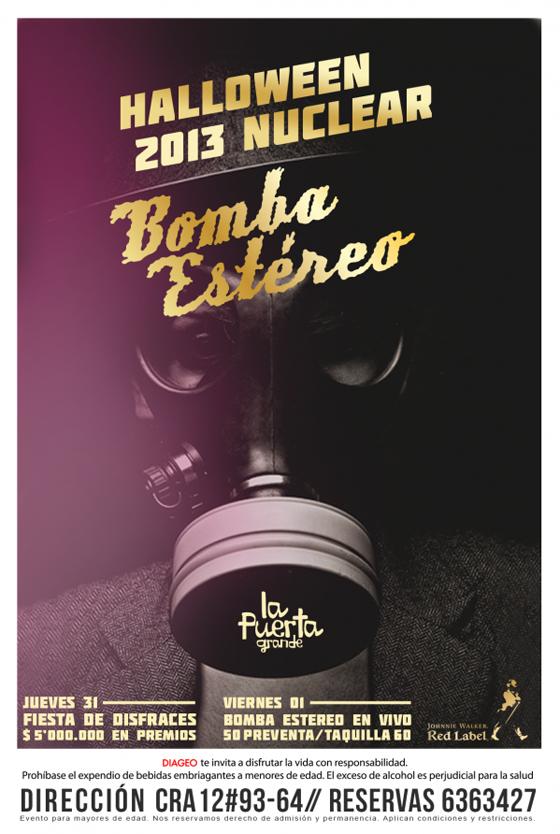 Halloween-Nuclear-Fiesta-Disfraces-octubre-Bomba-Estéreo-noviembre