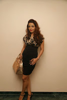 Actress Sonia Mann Latest  Stills in Short Dress at Dhee Ante Dhee Release Press Meet  6.JPG