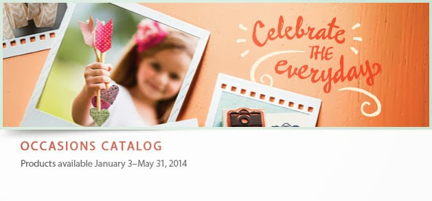 The Stampin Up! Celebrations Catalog is here!