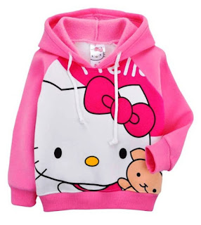 Contoh Jaket Model Terbaru Hello Kitty Anak Perempuan