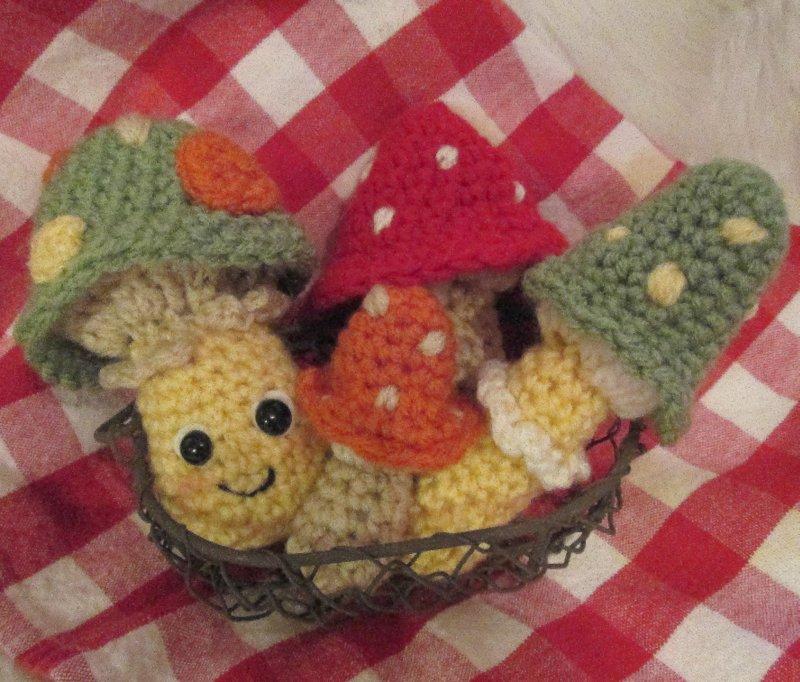 Teris Blog Free Cute Mushrooms Crochet Pattern