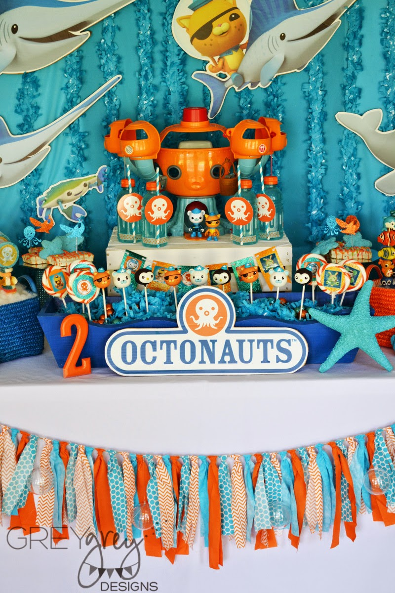 Greygrey Designs My Parties Octonauts Party With
