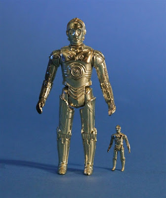 "C-3PO 12"" Jumbo Vintage Kenner Star Wars Action Figure by Gentle Giant"