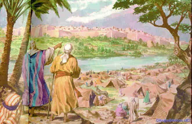 Image result for la ciudad de Jerico antes de Josue