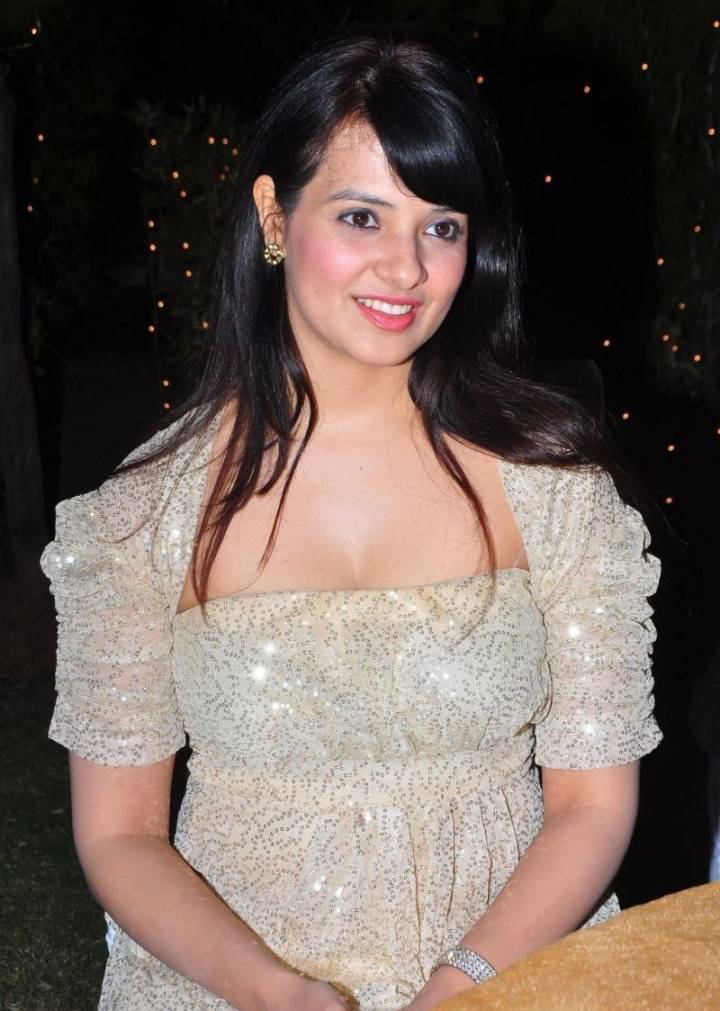 Actress Saloni Latest Cute Hot White Dress Spicy Photos Gallery