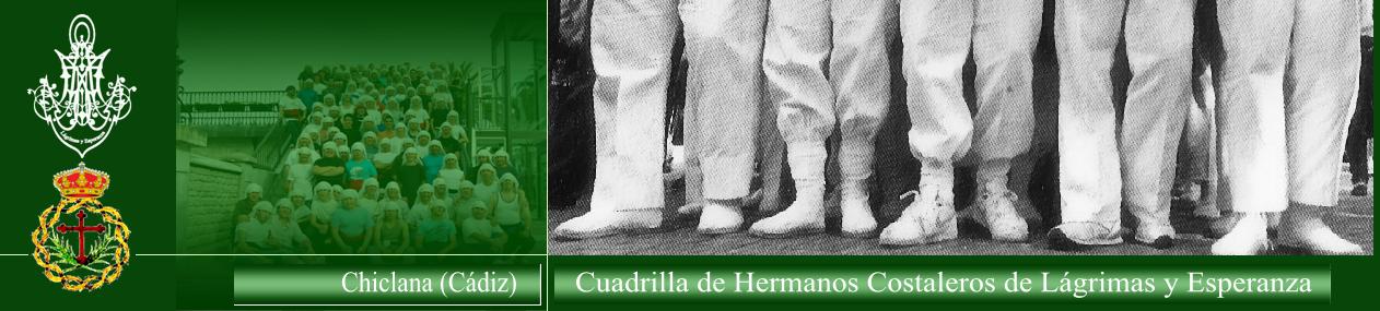 Cuadrilla de Hermanos Costaleros de María Stma. de las Lágrimas y Esperanza. Chiclana (Cádiz).