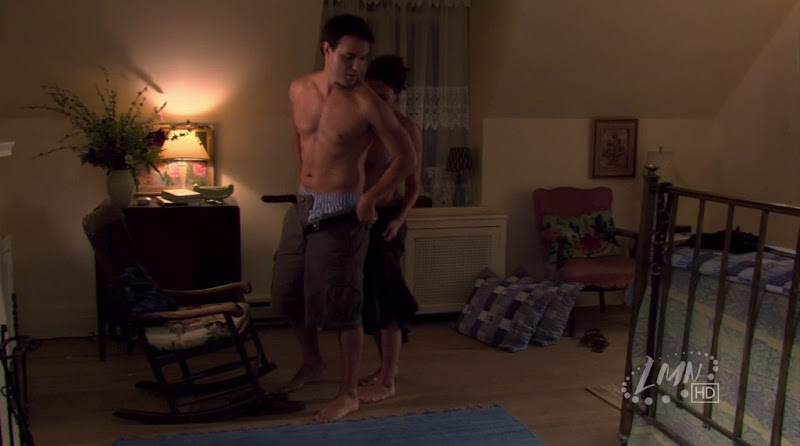David Haydn-Jones Shirtless in Secrets Of The Summer House