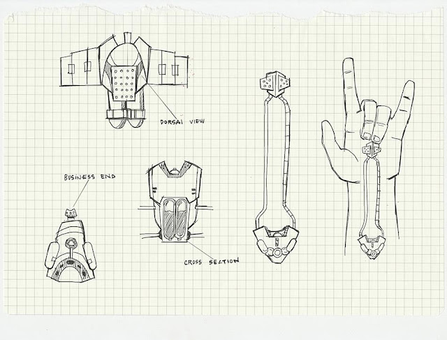 Spiderman web shooter blueprints