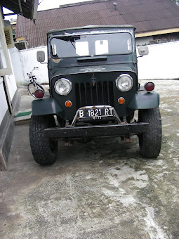 mitsubishi jeep 1966    (sold)