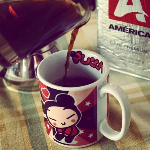 caneca de café da Pucca - foto Blog Carina Pedro