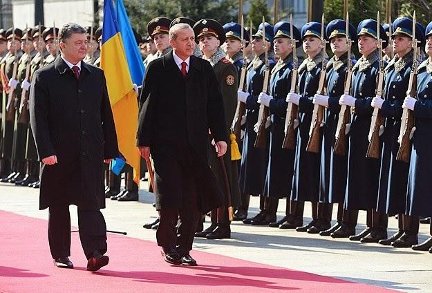 Президент Туреччини Ердоган відвідав Київ з офіційним візитом