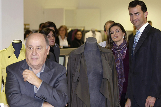 14 Billionaires Who Built Their Fortunes From Scratch - AMANCIO ORTEGA