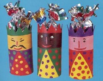 Recursos ideas diy y manualidades para navidad lluvia - Manualidades infantiles para navidad ...