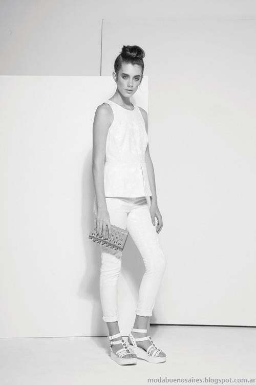 Carmela Achaval primavera verano 2014 moda mujer.