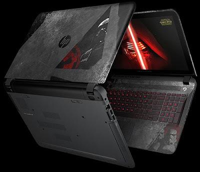 laptop, komputer, Spesifikasi Fitur dan Harga HP Star Wars™ Special Edition Notebook Dengan Performa Tangguh