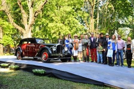 """Autoclásica 2014: Un Voisin C28 Chancellerie 1936 se adjudicó el premio """"Best of Show"""""""