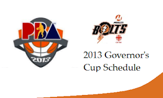 Meralco Bolts Schedule