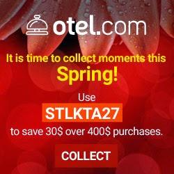 Otel .com 3月份最新92折優惠碼 Discount Code,有效至2015年3月31日。