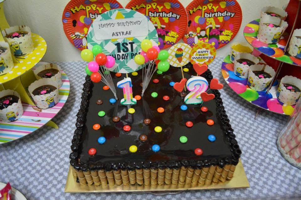 Mamaifah Cookies Bakery Kek Coklat Birthday 25 Kg