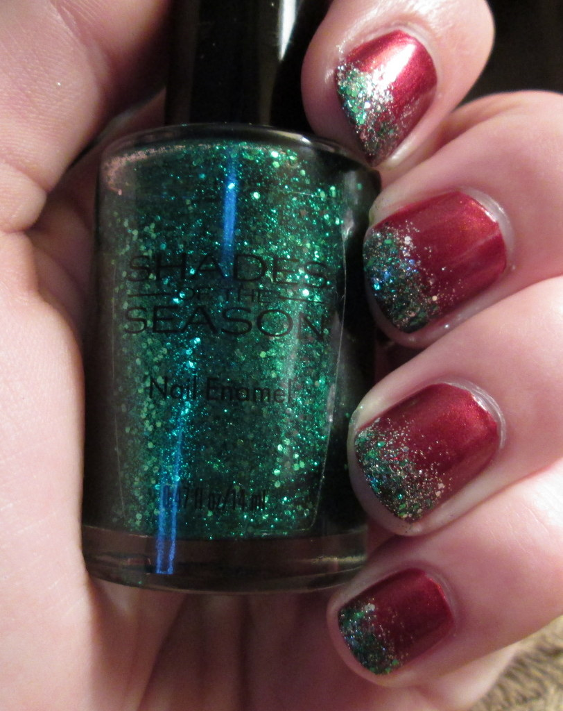 Steezy\'s Beauty Blog: My Christmas Nails! Shades of the Season & e.l.f.