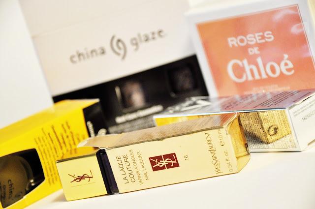 YSL, Chloe, China Glaze, Vichy