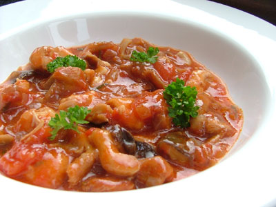 Slow-Cooker Pork Cacciatore - My Food and Family