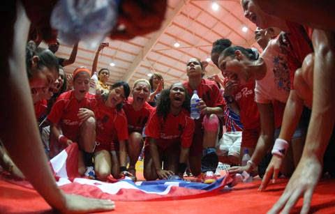Triangular internacional en Puerto Rico | Mundo Handball