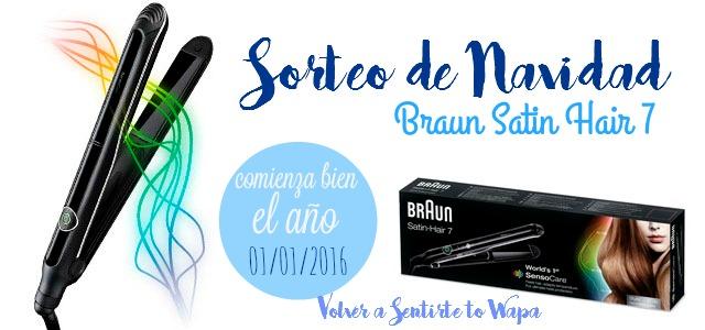 SORTEO - Braun Satin Hair 7 - GANADOR@