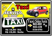 taxi são luiz