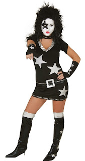 KISS - Starchild Sexy Adult Costume