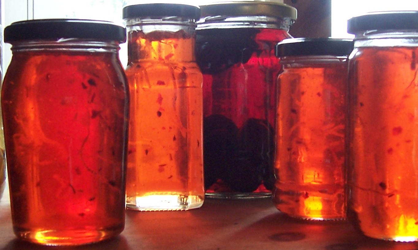 The Archers at The Larches: Spiced Apple Jelly